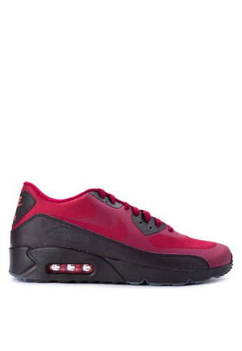 Nike red Men's Air Max 90 Ultra 2.0 Essential Shoes NI126SH0JNQDPH_1