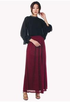 3163c84f877 20% OFF Nichii Glitter Maxi Skirt RM 99.90 NOW RM 79.90 Sizes XS S M L XL