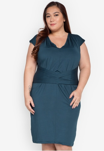 Lulu blue Plus Size Ansel Dress LU439AA0KL2MPH_1