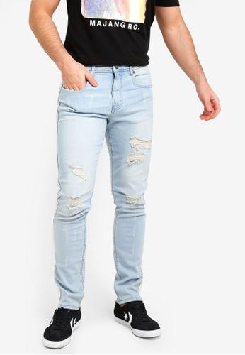Cotton On 藍色 修身牛仔褲 7B5A7AA374160EGS_1