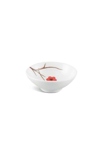 Minh Long I white Pink Ochna: Porcelain Sauce Dish (9cm) CA6FDHLAA87ADEGS_1