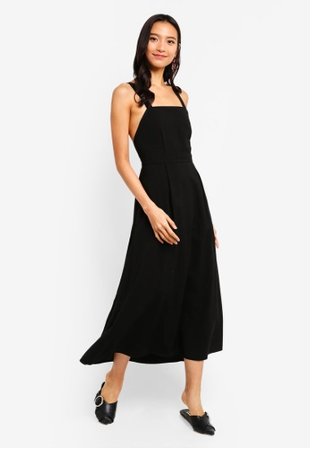 a8c8aaa89967 Buy TOPSHOP Midi Pinafore Slip Dress Online on ZALORA Singapore