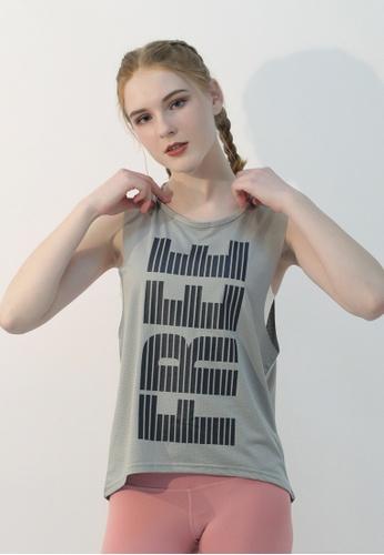 HAPPY FRIDAYS Women's Printed Mesh Tank DSG101 A5FE2AA2747BEEGS_1