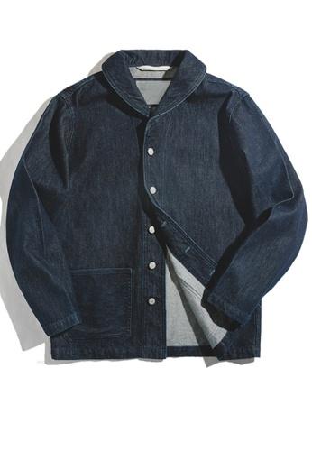 Twenty Eight Shoes blue VANSA Casual Denim Jacket  VCM-C1907104 873C2AA9BEB155GS_1
