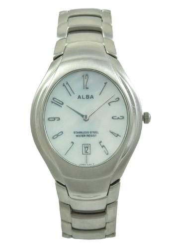 Alba silver ALBA Jam Tangan Pria - Silver White - Stainless Steel - AVKC49 AL383AC0V4Y3ID_1