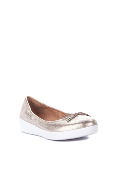 c1f7d4056 34% OFF Fitflop Superbendy Ballerina - Metallic Leather Php 6