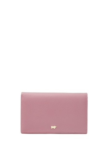 Braun Buffel pink Faye 2 Fold 3/4 Wallet F4B71ACCEB01A3GS_1