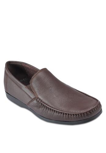 Arturo 簡約esprit taiwan方頭商務皮鞋, 鞋, 鞋