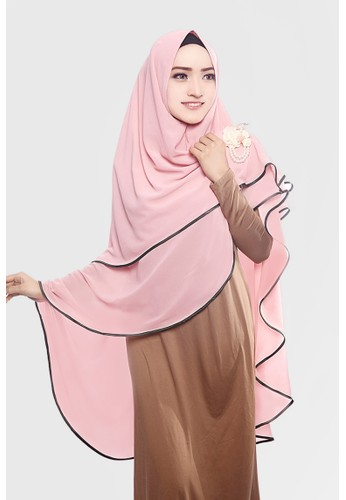 Zelena Khimar Lilianne - Dusty Pink