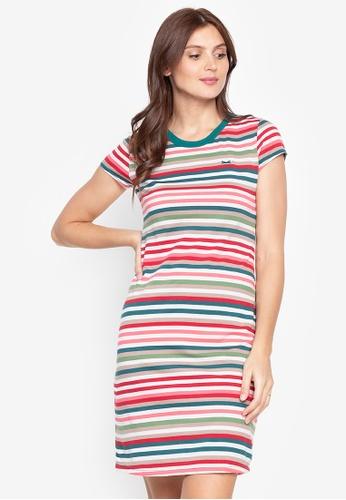 Le Tigre multi Striped Dress E3F87AA7A1F1A5GS_1