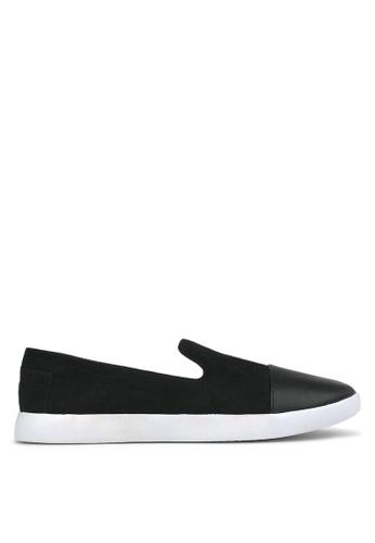 Betts black Sumo Casual Slip On Shoes 4037ASH48C3351GS_1