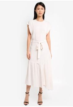 0a52bda44c4845 TOPSHOP white Cutabout Stripe Midi Dress TO412AA0SZ6GMY 1