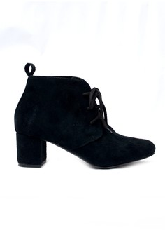 Katlyn Lace-Up Ankel Bootie