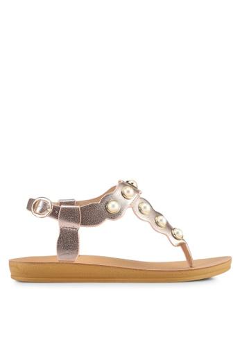 Noveni pink Strappy Sandals 88644SH523723BGS_1