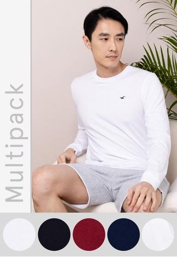 Hollister multi Multipack Classic T-Shirt 46074AA267AA9BGS_1