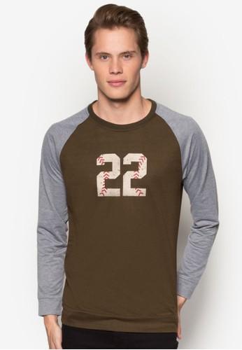 22 拉克蘭長袖衫, 服飾, 運動esprit 品牌衫