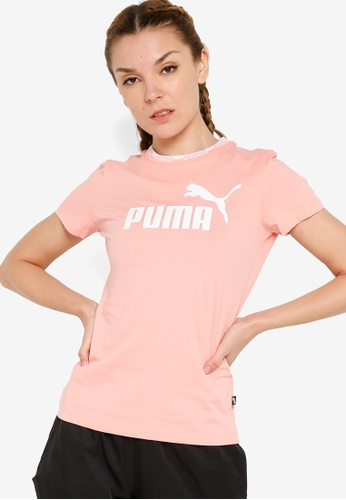 Puma pink Amplified Graphic Tee 17109AA5C2C335GS_1