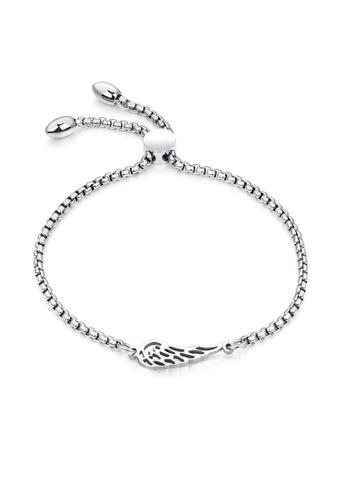 ADORA silver Stainless Steel Silver Bracelet 0B603AC99522E0GS_1