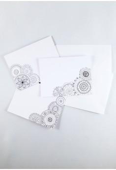 Color In Mandalas Mini Notecards Set
