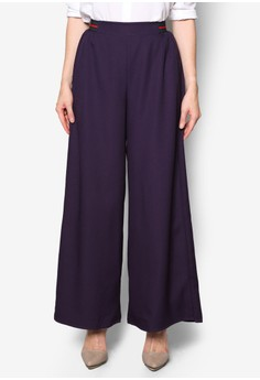 BYN purple Palazzo Pants BY059AA11EMIMY_1