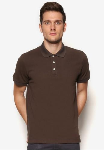 基本款素色POLO 衫, 服esprit china飾, Polo衫