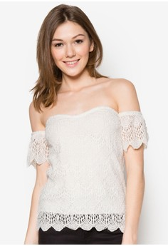 Abel Lace Off Shoulder Top