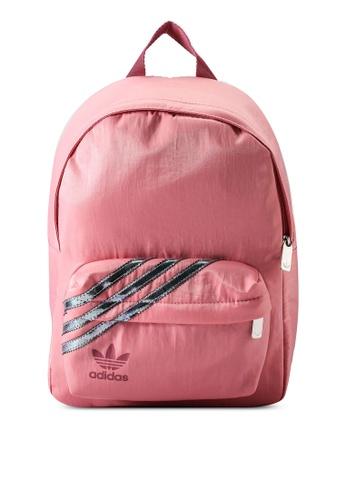 ADIDAS pink nylon women backpack 3489FAC67A986CGS_1