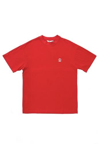 SUB red Men Short-Sleeve Fashion Tee 033C8AA91C7430GS_1