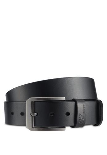 RAV Design black 40mm Leather Belt E1BE0ACE880B13GS_1