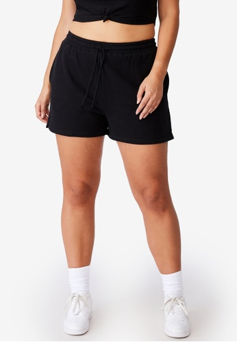 Supre black Hayley Sweat Shorts AEFD9AA363296DGS_1