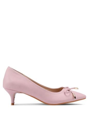 Carlton London pink Bow Heels 52B3BSH2DE87E4GS_1