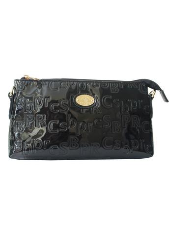 Santa Barbara Polo & Racquet Club black Pippa Series Shoulder Bag SA244AC01GZIPH_1