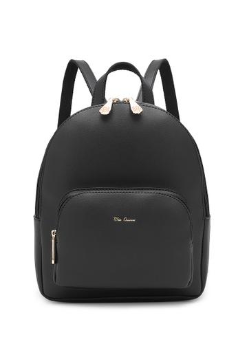Wild Channel black Women's Casual Backpack FE63AAC98923D6GS_1
