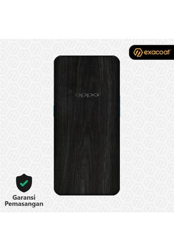Exacoat Oppo Find X 3M Skins Wood Ebony - Cut Only 023BBES910BAEBGS_1