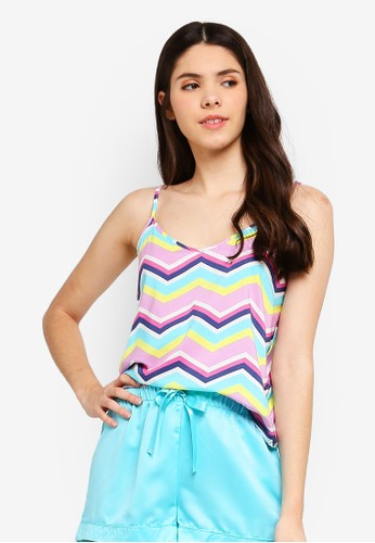 Supre multi Cotton Sleep Cami Top 99106AA02D8688GS_1
