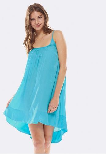 Deshabille blue Belagio Dress 200A1AAC19934DGS_1