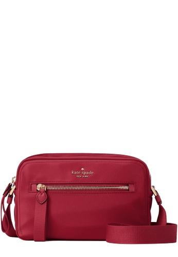 Kate Spade red Kate Spade Chelsea Camera Bag in Blackberry Preserve 336D2ACAAE4081GS_1