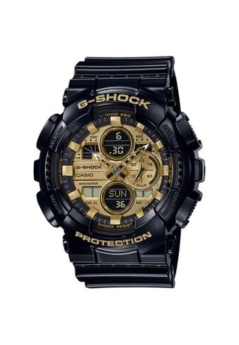 G-SHOCK black CASIO G-SHOCK Men WatchGA-140GB-1A1DR B5F99AC7115AEBGS_1