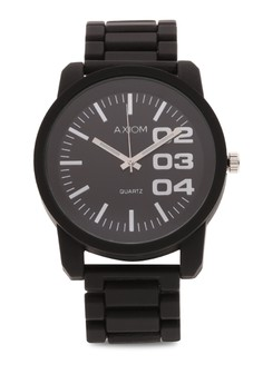 Mens Rubber Analog Watch