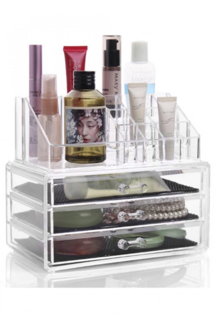 Make Up Case Organizer with 3 Drawers Storage