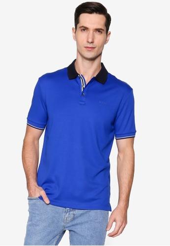 BOSS blue Parlay Polo Shirt 60115AA0092258GS_1