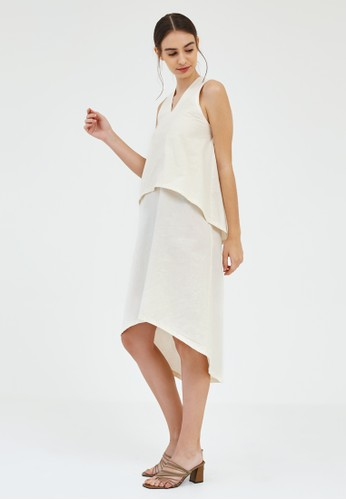 Ratel white Reef Halter Dress 6A479AAC47F39FGS_1