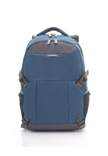 Samsonite multi Samsonite Albi LP Backpack N6 (Petrol Blue/Grey) SA581AC0SGG1MY_1