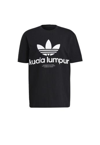 ADIDAS black adidas Originals Key City Tee 24BFBAADD43D62GS_1