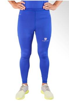 harga Baselayer Manset Rash Guard Compression Tiento Long Pants Blue Silver Zalora.co.id
