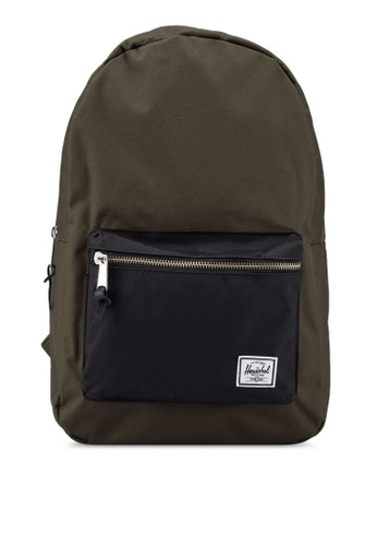 Herschel green Settlement Backpack 9AD6FAC32C3A17GS_1