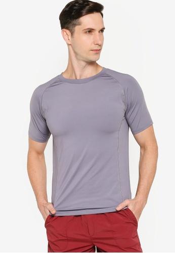 ZALORA ACTIVE grey Muscle Training T-Shirt 7F485AA57135A8GS_1