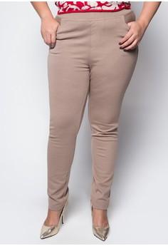 Plus Size Regular Trousers 3023
