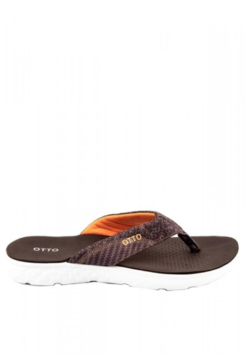 Otto brown Casual Slippers E4AA6SH110AEC0GS_1