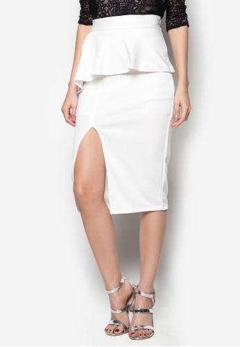 Madelaine Ongpauco Barlao white Reese Skirt MA508AA05ENMPH_1